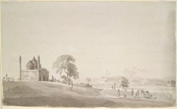 Tomb [mosque] near Afzalgarh (U.P.). 8 May 1789
